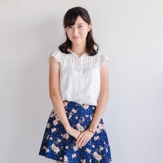 作間汐莉さん 〜学生キャスター/モデル〜